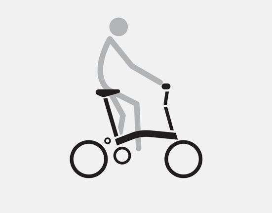 H Type Ride on small folding bike